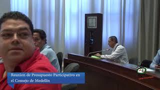 Consejo de Medellín- Tema : Participación Ciudadana 2015