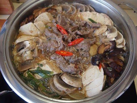 Корейская кухня: Пулькоги чонголь (불고기전골) или рагу из пулькоги