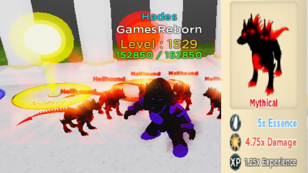 Roblox God Games Best Mythical Pets Fight Cauldron Update God Simulator Roblox Youtube