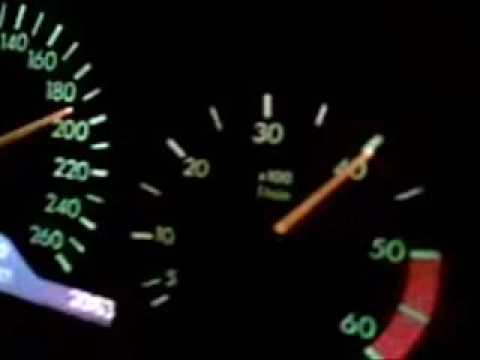 Mercedes E300 TD w210 - Top speed
