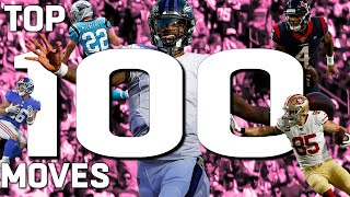 Top 100 Moves (Jukes, Stiff Arms, & Hurdles) of the 2019 Season
