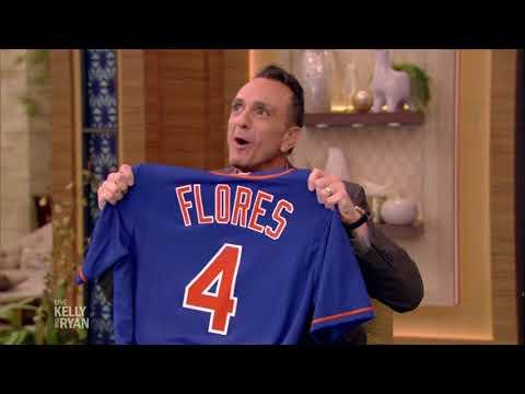 Kelly & Ryan Give Hank Azaria a Mets Birthday Gift