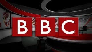 BBC // World News - 'BREAKING NEWS' (ticker tape) 【Full-HD】