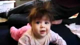 static electricity babies hair