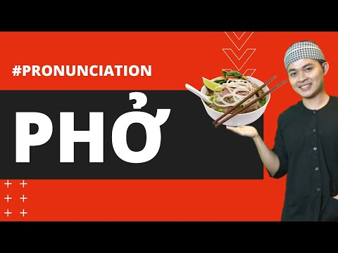 """HOW TO PRONOUNCE """"PHO"""" PHỞ CORRECTLY IN SAIGON DIALECT - Learn Southern Vietnamese"""