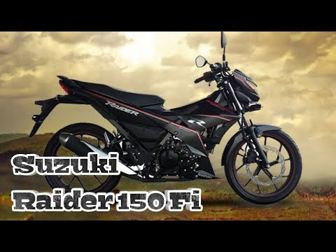 All New Suzuki Raider 150 Fi Philippines - YouTube