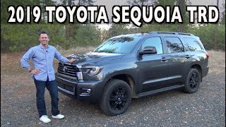 Here's the 2019 Toyota Sequoia TRD Sport Review on Everyman Driver
