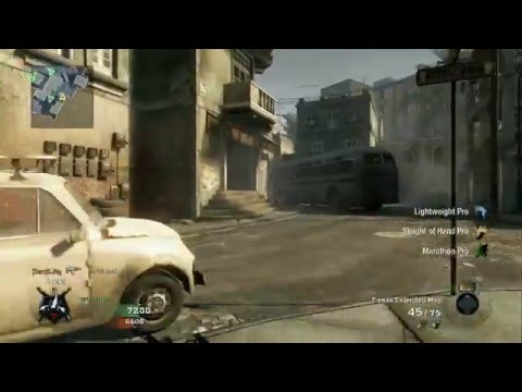 Call Of Duty Black Ops - Team Deathmatch versus Veteran Bots - Havana