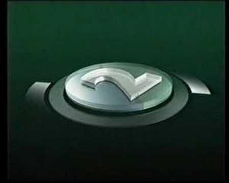 YLE TV2 - Ident - Tunnari - 1995