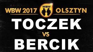 bitwa TOCZEK vs BERCIK # WBW 2017 Olsztyn (1/8) # freestyle battle