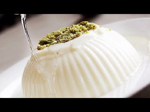corn-flour-pudding-with-sugar-syrup-|-mahalabia-recipe-easy-lebanese-dessert-recipe