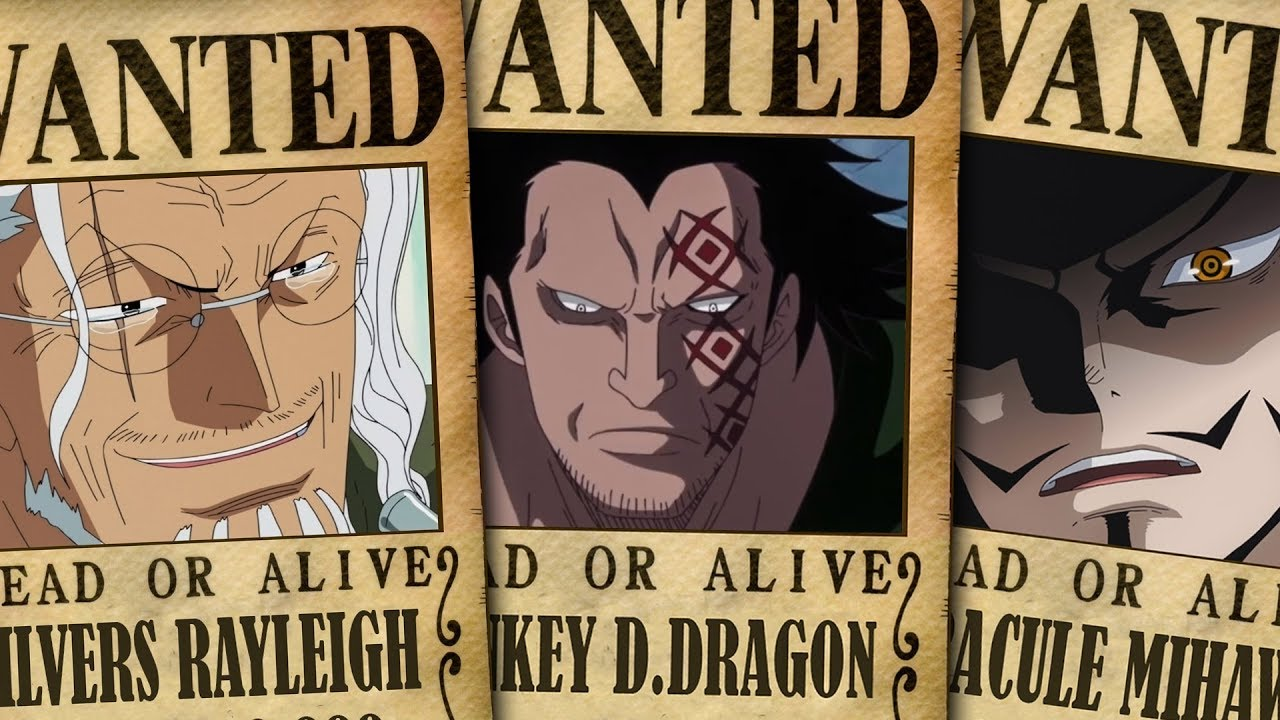 Top 10 Highest Unknown Bounties In One Piece 2019 Chapter 930