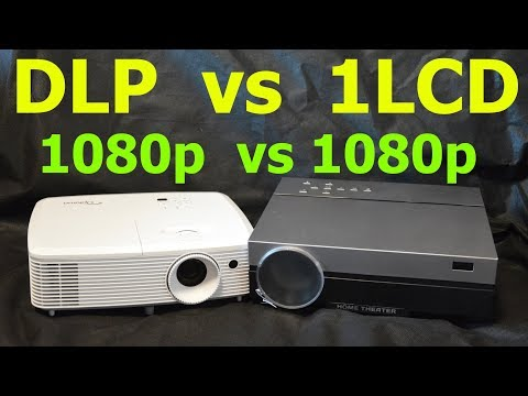 TouYinger T26K Vs Optoma HD29Darbee (DLP Vs 1LCD) (Проектор Projector)