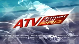 ATV Offroad Fury Pro PSP Gameplay