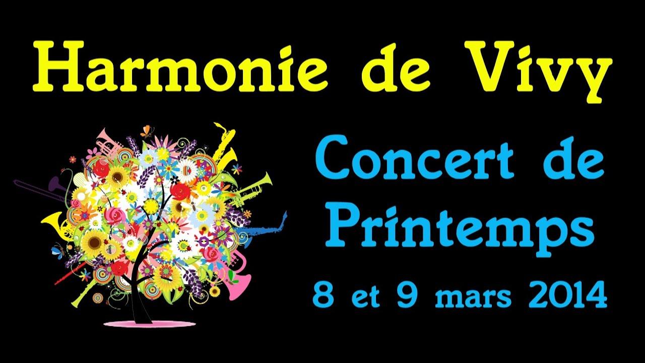 Harmonie de Vivy - Concert de Printemps 2014