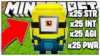 THE MOST POWEREFUL MINION IN MINECRAFT *BRAND NEW MINIGAME!* - MINECRAFT MODDED MINION MAKER