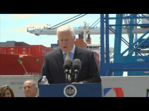 Philadelphia Port improvements to help fruit trade