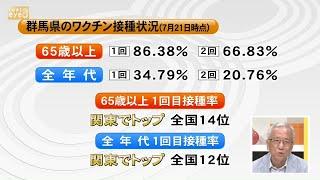 【ズームeye】関東でトップ 群馬のワクチン接種状況/群馬医療福祉大学 新井英司客員教授