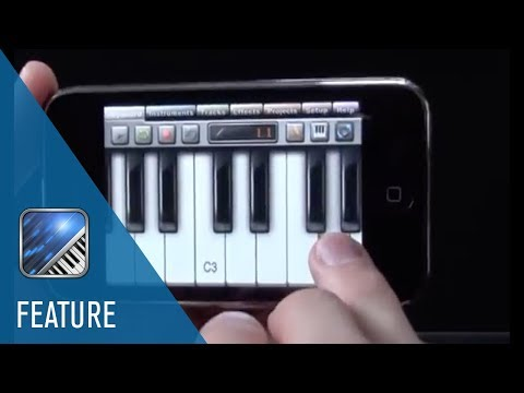 Pitch Bend and Filter Effect | Music Studio for iPhone