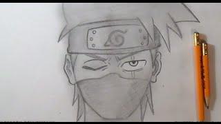 Comment dessiner Kakashi - Naruto
