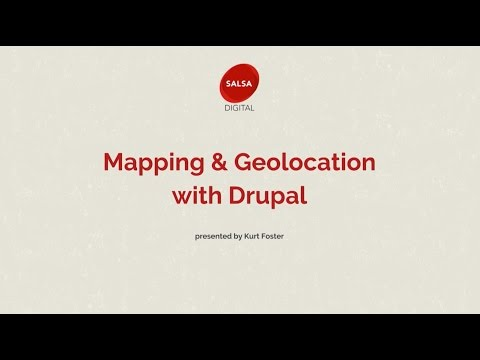 Mapping and Geolocation with Drupal
