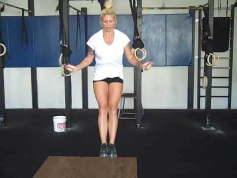 bridget blonde 70 double-unders