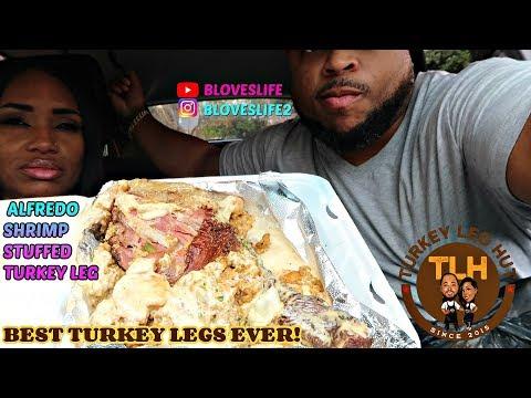 Turkey Leg Hut, Trying Every Turkey Leg On The Menu