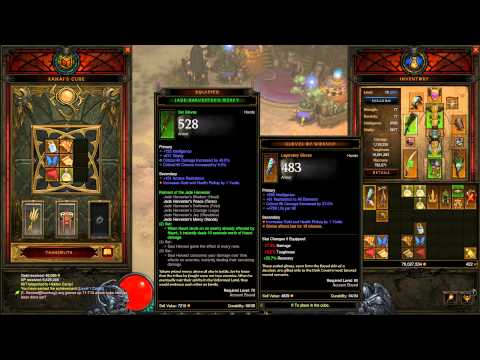 How to Extract Legendary Powers With Kanai's Cube - Diablo 3 - 2.3.0 PTR Preview