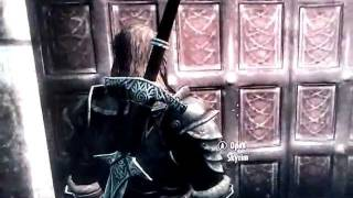 Skyrim - Blood On The Ice not starting / back door at night solution