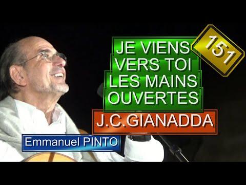 Je viens vers toi les mains ouvertes(Jean-Claude Gianadda) - (chant liturgique) - Karaoké N°151