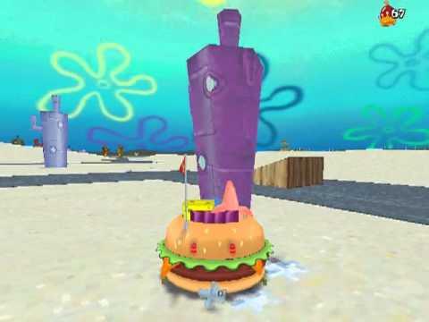 spongebob squarepants 3 d gameplay