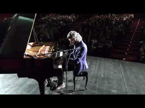 Ivan Dalia piano solo improvvisazione. Concerto nell'auditorium del conservatorio di Cagliari ottob