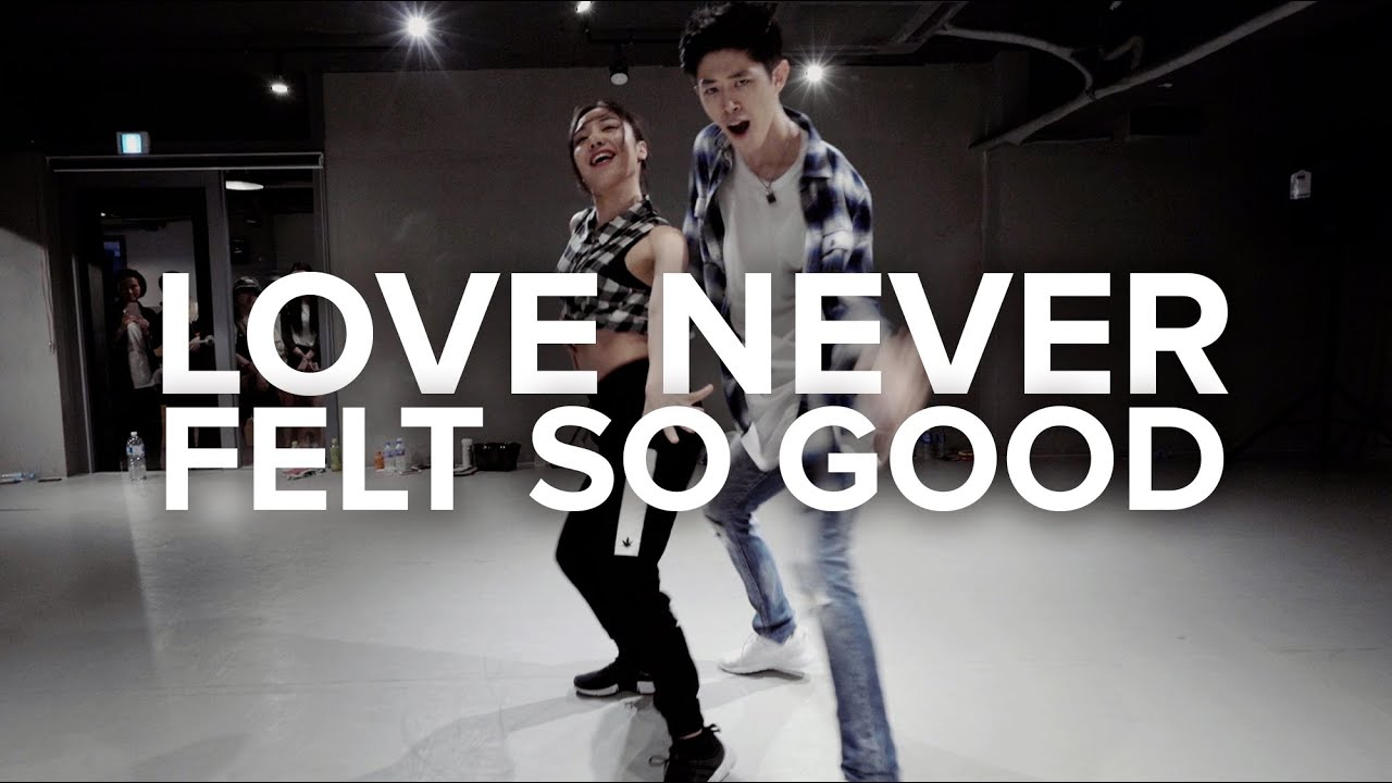 Love Never Felt So Good