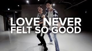 Love Never Felt So Good - Michael Jackson / Bongyoung Park & May J Lee Choreography