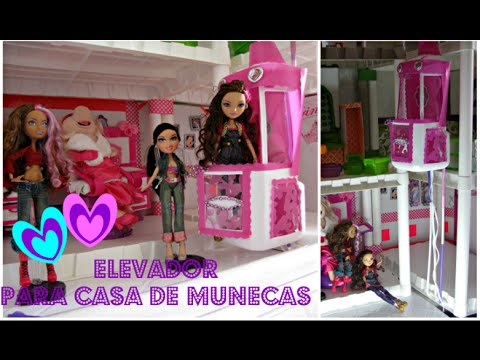 Como hacer una casa de munecas elevador bratz ever after for Manualidades decorativas para la casa