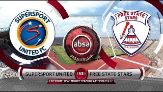 Absa Premiership 2018/19 | SuperSport United vs Free State Stars
