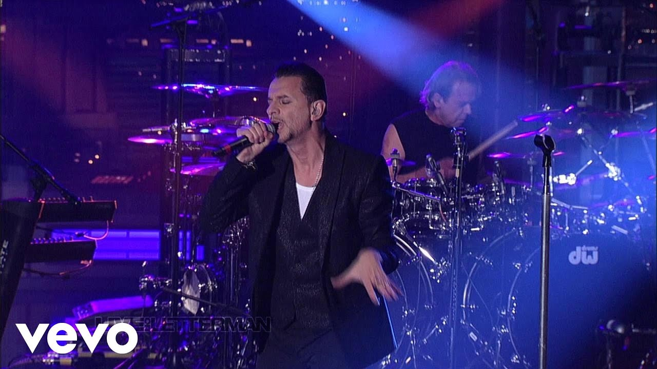Depeche Mode Should Be Higher Live On Letterman Youtube