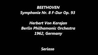 beethoven, Symphonie Nr  8 F Dur Op  93 , karajan