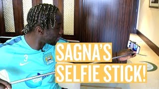 Manchester City: SELFIE STICKS & BREAKING BAD | What's in Bacary Sagna's Suitcase?