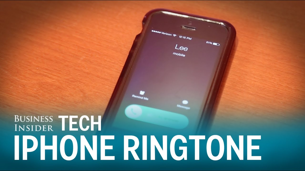 how to change your default ringtone on iphone 5