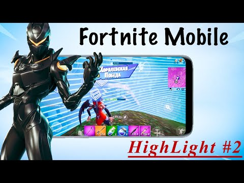 Fortnite Mobile Pro/ Claw/ iPhone SE / HighLight #2