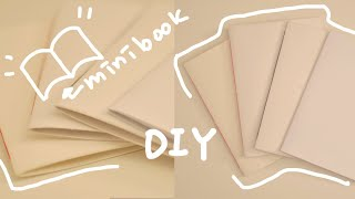 Handmade | 종이 한장으로 책만들기 | 수제노트…