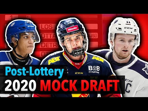 My FINAL 2020 NHL Mock Draft