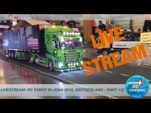 LIVE: RC EVENT IN JONA, Switzerland 2018 - PART 1/2