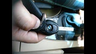 BMW E60 5 SERIES  Kак открыть и закрыть окна с ключа.