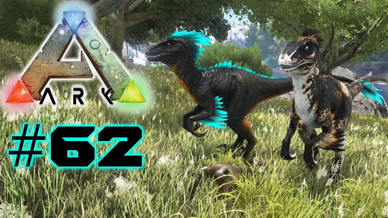 Ark Survival Evolved #62 - Badass & Large Raptor zähmen ...