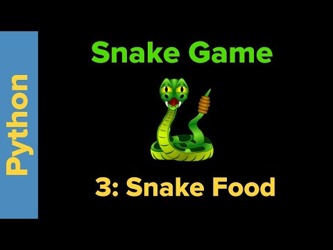 Snake Game in Python Part 3