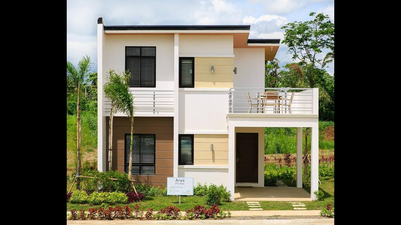 Arya prime house model sentrina subdivision lipa city for Model house design 2016