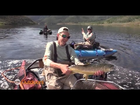 Fishing Currant Creek with Twin Territory