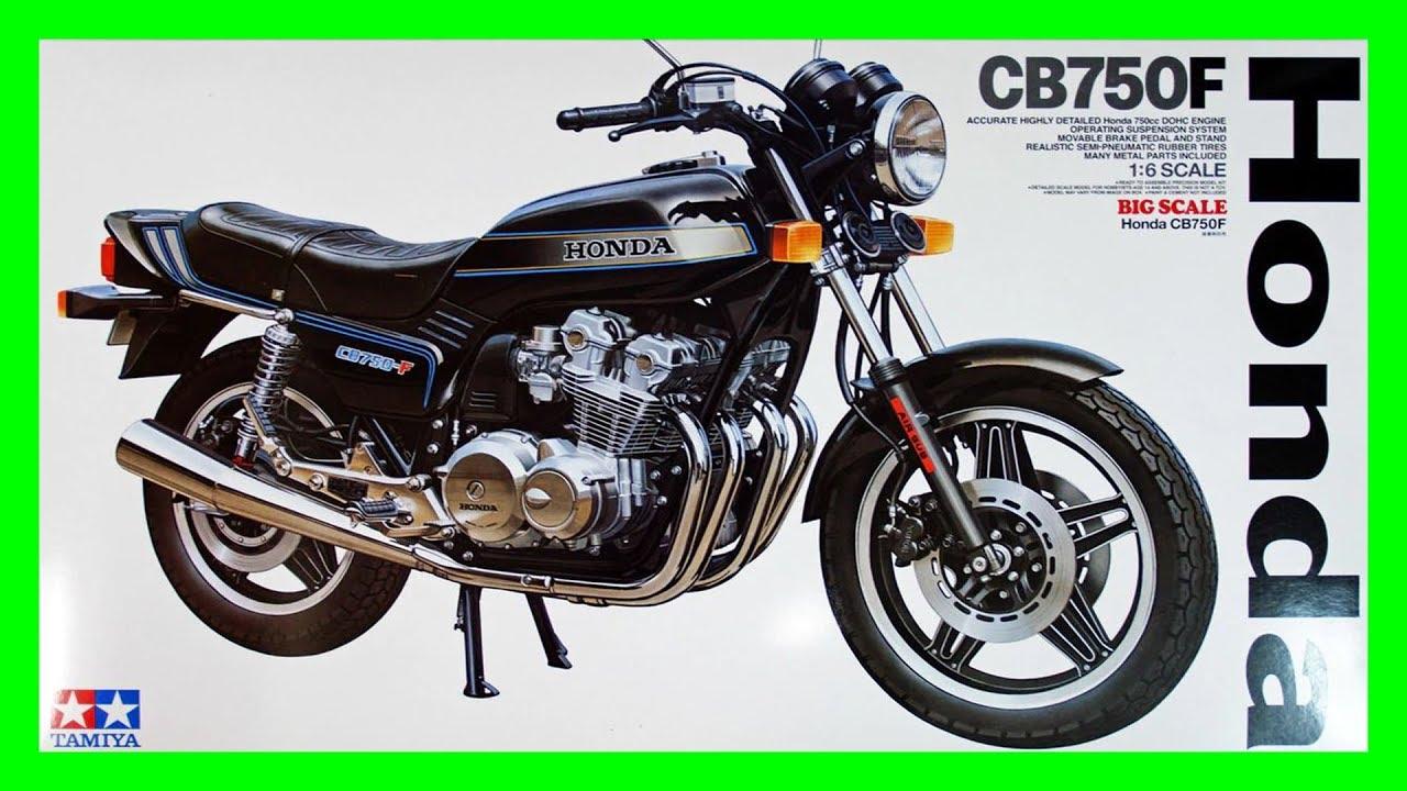 Quick Look At Tamiya Honda Cb750f 16 Youtube
